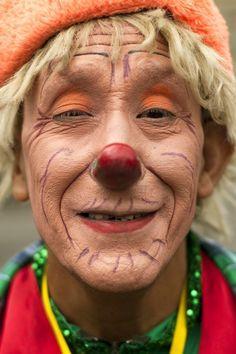 Clown Chiribisco uit El Salvador.