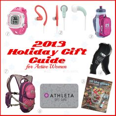 2013 Holiday Gift Guide for Active Women jillconyers.com #koss #fitgear #fitness #athleta