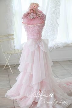 Shabbyfufu Romantic Dress Forms...Some Previously SOLD Pieces...Available By Special Order