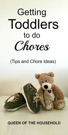 Getting Toddlers to do Chores Tips and chore ideas for toddlers