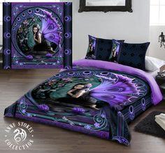 Anne Stokes Naiad Gothic Fairy Kingsize Duvet Set (US Queen Size) Anne Stokes, Bed Duvet Covers, Duvet Sets, Duvet Cover Sets, Duvet Bedding, Linen Bedding, Double Duvet Set, Gothic Artwork, Gothic Fairy