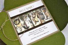 Where the Wild Things Are Birthday Invitation by StillRiverPress