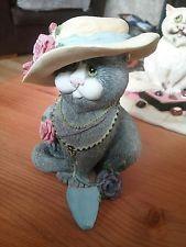 Comic & Curious Cats - Linda Jane Smith - Border Fine Arts -second hand rose