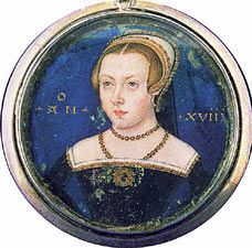 Lady Jane Grey, the ill-fated Nine Day Queen.