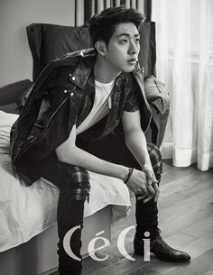 Lee Jung Shin told the June issue of CéCi that he thinks he's very lucky and that he loves his job. Well, who wouldn't if you were a member of the 4 Royalty Rock Gods – CN Blue? Hong Jong Hyun, Ahn Jae Hyun, Kang Min Hyuk, Jung Suk, Jung Yong Hwa, Joo Hyuk, Lee Jung, Blue Lee, Cn Blue
