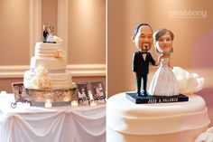 Bobble Head Cake Toppers // © gntphoto.com