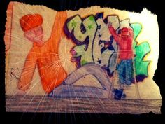 My picture from Art-School #ArtSchool #Graffiti #People #StreetArt #yea