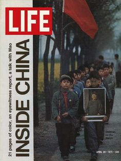 "Inside China 1972 ~ April 30, 1971 issue ~ Old Life Magazines ~ Click image to purchase. Enter ""pinterest"" at checkout for a 12% discount."