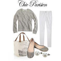 Simple. Parisien Style. Loves it!