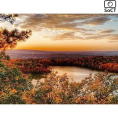 Connecticut  ✨ Photographer  @harmonychamberlain✨  #ScenesofNewEngland  Pic of the Day   10.20.15 ✨ C o n g r a t u l a t i o n s ✨ - Sunset on Crescent Lake.  #scenesofCT #southingtonCT #connecticut_potd #crescentlake #crescentlakeCT #ctlakes  #connecticut_explore #hikect #hike #explore...