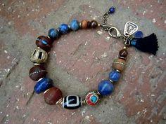 Spiritual Journey / Wrist Mala / Yoga Bracelet /Bodhi by Syrena56
