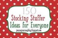 200 Stockiing Stuffers, for everyone, men, women  http://lemontreecreations.blogspot.com/2011/12/friday-finds-pinterest-my-style.html#