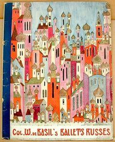 BALLETS RUSSES de Monte Carlo 1936-1937 Season. Souvenir Program