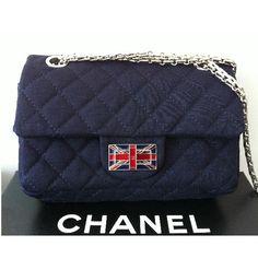 Chanel Shoulder Bag (Navy)