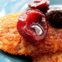 Cherry Amaretto Pancakes