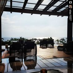 repost from at Never a bad day Now Amber Puerto Vallarta, Vacation Club, Pacific Blue, Night Life, Pergola, Paradise, Mexico, Swimming, Outdoor Structures