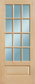 The Masonite French door accentuates any room with its natural, beautiful wood construction and increases the brightness and functionality of any home. Beveled Glass, Wood Construction, Glass Door, French Doors, Home Accessories, Exterior, Windows, Beautiful, Natural