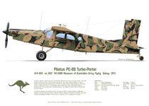 Pilatus PC-6 A14-652 VH-OWB Camo 2012
