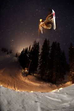 Surf by day, snowboard by night.