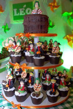 Cupcake dos personagens
