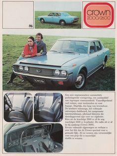 Toyota Crown brochure (1974)