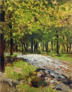 Path in the forest - Isaac Levitan.