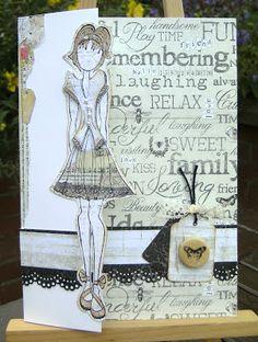 MISSY G DESIGNS: Prima Doll Stamp ......