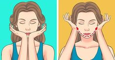 This Japanese Facial Massage Can Get Rid Of Wrinkles And Swelling In Just 5 Minutes A Day (Supermodels Swear by It) - Care - Skin care , beauty ideas and skin care tips Reduce Swelling In Face, Lulu Hairstyles, Facial Yoga, Face Exercises, Massage Treatment, Face Massage, Anti Aging Facial, Massage Techniques, Facial Care