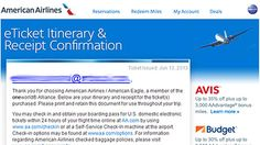 American Airlines Says Email is Phishing #Scam