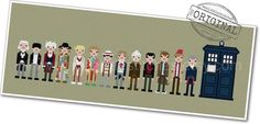 All Doctors and Tardis