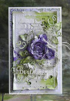 Dziś premiera najnowszej kolekcji   w  Heartfelt Creations - Classic Rose .     Zajrzycie koniecznie na firmowego  bloga     i zobaczci...