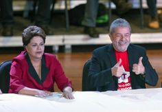 Dilma participa da comemoração dos 70 anos de Lula (foto: EPA)