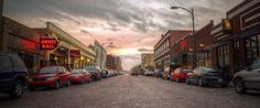 Chestnut Street District located in Historic Downtown Hays - photo taken by Crossroads Photography in #DowntownHays