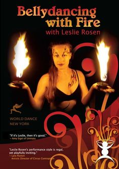 """Belly Dancing with Fire: Hand-held Candles & Palm Torches"" DVD"