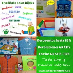 Feliz lunes y feliz comienzo de semana  Nuevos productos y consejos para ti, por que nos importas  www.ahorrochildren.es