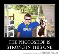 The ultimate photoshop master…