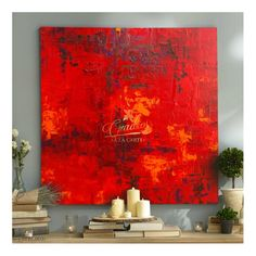 "Outstanding ""abstract art paintings techniques"" detail is offered on our internet site. Take a look and you wont be sorry you did. Red Wall Art, Abstract Wall Art, Oil Painting Pictures, Painting Inspiration, Sculpture Art, Modern Art, Canvas Art, Artwork, Art Paintings"