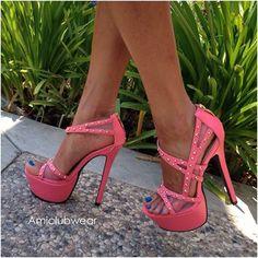 pink heels:)
