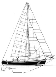The Hans Christian 41 Traditional Sailboat