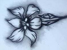 I love to draw flowers !!