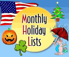 http://www.spellingcity.com/monthly-holiday-lists.html
