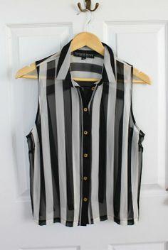 camicia black end white