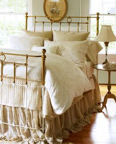 Champagne colored bedroom