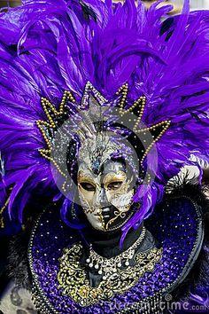 Traditional venetian carnival mask by Goran Bogicevic, via Dreamstime