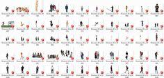 Angelica Colombo Ponciano: Blocos de Pessoas em 3D para SketchUp!