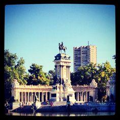 Estanque del Retiro ( Madrid )