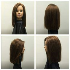 short layered haircut below the shoulder one length haircut no layers my 9806 | ce34cc9806af05c1a7d7b664f84cd30b journal blunt cuts