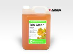 BIO Clear - This is not your everyday grease trap product, This is a Premium drain and grease trap maintainer.