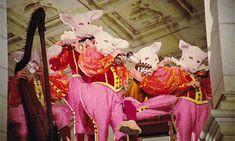 Pig-headed minstrels in Peau d'Âne Jacques Demy, Film Inspiration, Film Stills, Art Direction, Creepy, Fairy Tales, Weird, Horror, Artsy