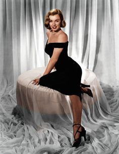 Marilyn Monroe, color by John Gulizia; History in Color